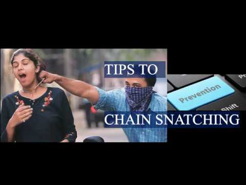 """Tips to Prevent Chain Snatching - """"Must Watch Everyone"""""""