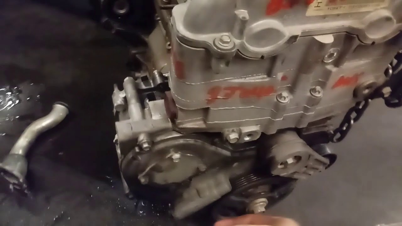Replace an Ecotec Water Pump (Timing Chain Driven)