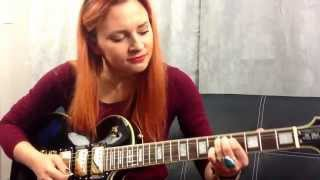 AC/DC - You Shook Me All Night Long  ** Vocal & Guitar Cover By Agata Ćwik ( Aggatth Ce) **