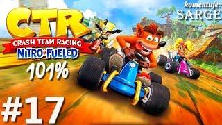 Zagrajmy w Crash Team Racing: Nitro-Fueled PL (101%) odc. 17 - Złote Relikty: Gem Stone Valley