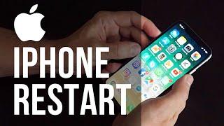 Jak restartovat Apple iPhone X