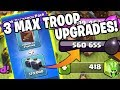 UPGRADING 3 TROOPS TO MAX FOR TH12! - Baby Dragloon Freeze Farming - Clash of Clans