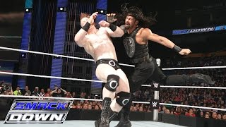 Roman Reigns & Dean Ambrose vs. Sheamus & Kane: SmackDown, June 18, 2015