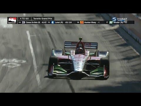 IndyCar Series 2018. Grand Prix of Toronto. Final Laps