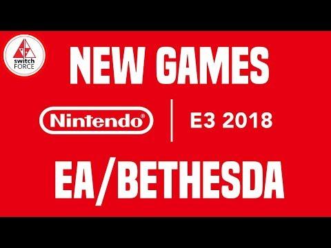 E3 2018 Nintendo - DAY ZERO NEW SWITCH GAMES! (Fallout Shelter, ESL, Tales of Vesperia)