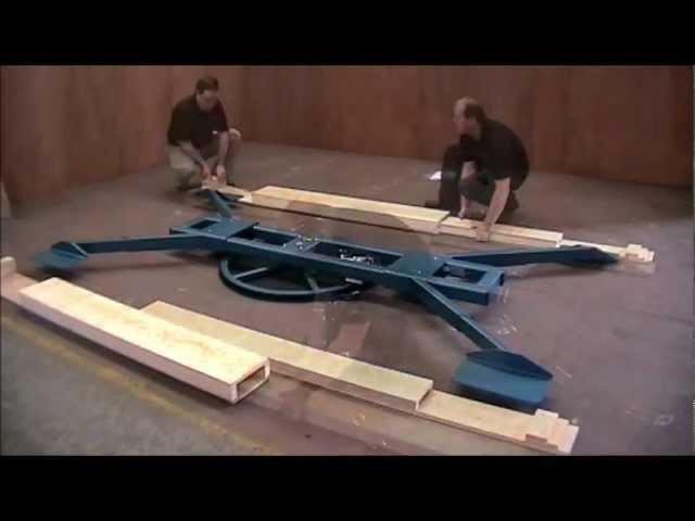 Merlin® Major revolving platform - Step by step assembly