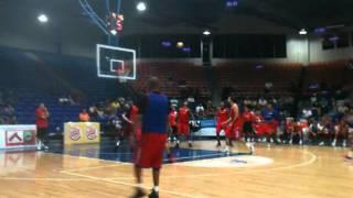 Puerto Rico Basketball Team Practice #3 (7/25/11), Boricuas Ballers