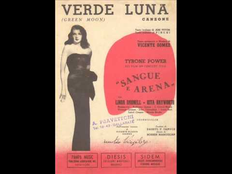Flo Sandon's - Verde Luna (con testo).wmv - YouTube
