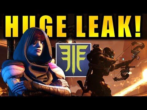 Destiny 2: HUGE FORSAKEN LEAK! - Raid Info! - New Dungeon! - & More!
