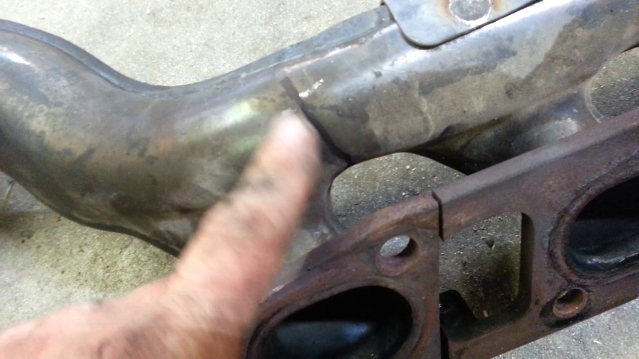 nissan armada titan long tube header install part 1 [ 1280 x 720 Pixel ]