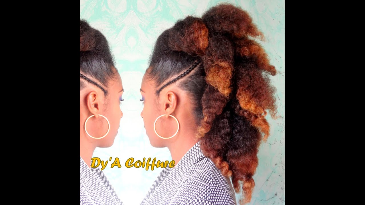 Beliebt IDEAS ☆ Mohawk & updos styles - By Dy'A - YouTube PI64