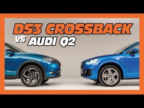 DS3 Crossback vs Audi Q2 : le match des petits SUV chics !