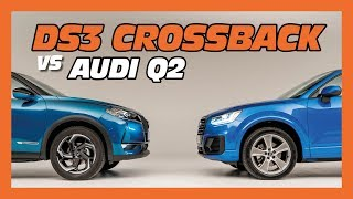 DS3 Crossback vs Audi Q2 : le match des petits SUV chics !