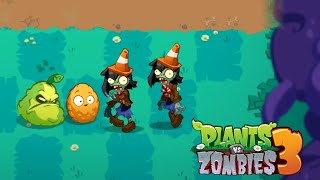 Plants vs Zombies 3 NEW VERSION Gameplay Walkthough Levels 11 - 15 (New Plants Squash Unlocked)