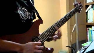 Opeth - A Fair Judgement [Guitar solo cover (Peter Lindgren)]