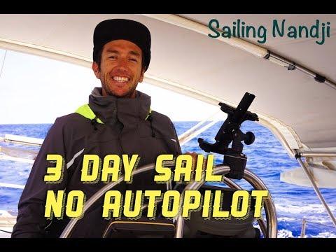 Sailing Nandji - Hand steering to Vanuatu, Ep 52