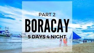 Vlog#2 Boracay Philippines 菲律宾旅拍-长滩岛海滩 Boracay  5days 4night   Beautiful Beach  AhMiao Tv