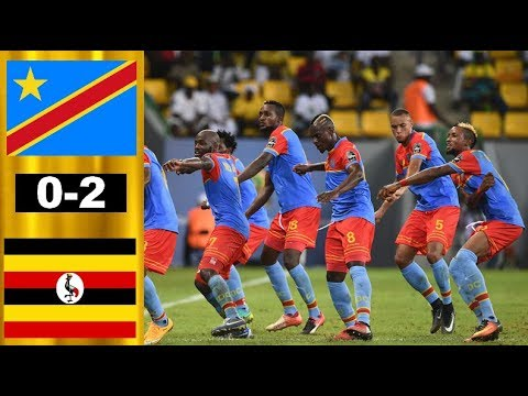 DR Congo vs Uganda 0-2 Highlights & Resumen y Goles 2019 Africa