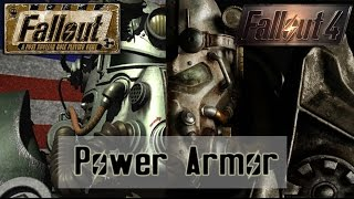 Power Armor, Through the Ages Fallout, Fallout 2, Fallout 3, Fallout New Vegas Fallout 4