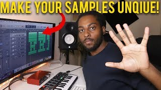 5 Tips to Chop, Flip and Make Your Samples UNIQUE | Ultimate Sample Tutorial Logic Pro X Tutorial