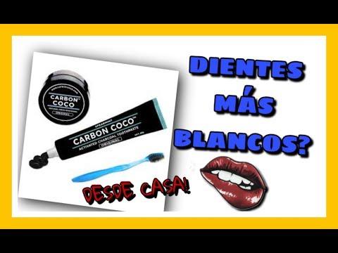 VIDEO EXTRA: DIENTES MAS BLANCOS CON CARBON COCO!