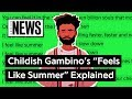 "Childish Gambino's ""Feels Like Summer"" Explained  Song Stories"