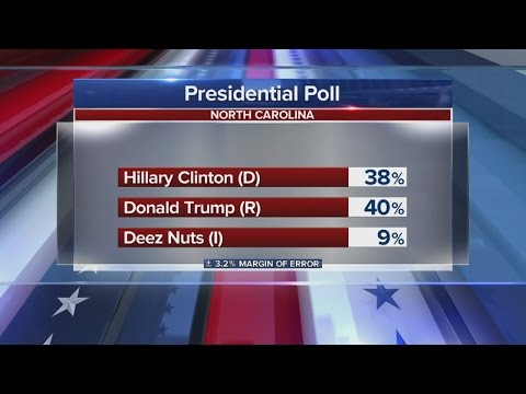 Deez Nuts rising in Presidential polls