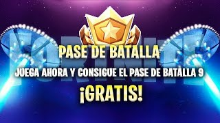 FORTNITE REGALA BATTLE PASS 9 FREE! ✅ *HAVE BATTLE PASS 9 FREE*