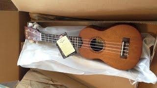 UNBOXING & REVIEW: Kala 4-String Ukulele, Light Mahogany Stain, LTP-S