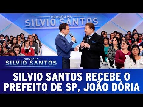 Silvio recebe o prefeito de São Paulo, João Dória | Programa Silvio Santos (18/06/17)
