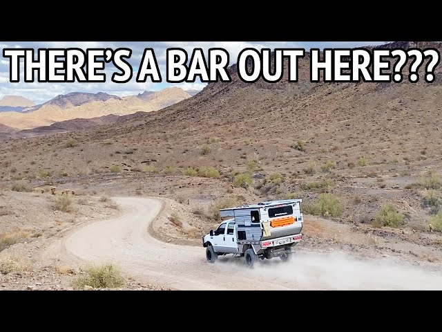 Taking Our Off-Grid Camper to The Desert Bar in Parker Arizona