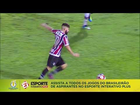 Melhores momentos - Santa Cruz 1 x 1 Atlético-GO - Brasileirão de Aspirantes (19/06/2018)