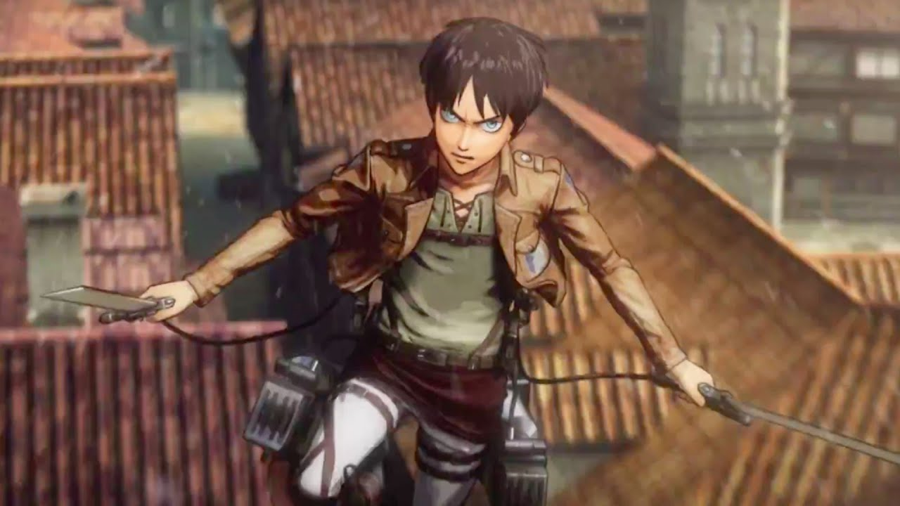 Attack on Titan Official Japanese Gameplay Trailer - YouTube