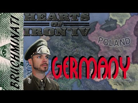 Hearts of Iron 4 | Germany 1936 Preparations for War! Part 1