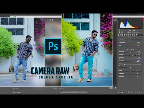 How To Use Adobe Photoshop Camera Raw Color correction | Tutorial thumbnail