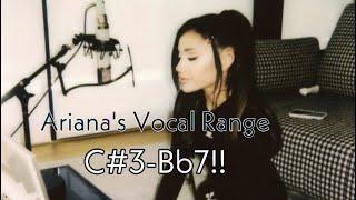 Download Ariana Grande's Full Vocal Range! [Updated]