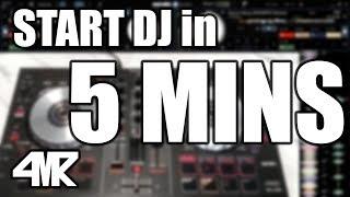 START DJ in 5 MINUTES [DJ Tutorial #1]