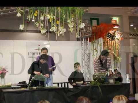 Miflor, Federfiori Florists at work