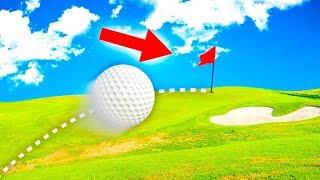 МЕГА ЧИТЕРСКИЙ УДАР ПРЯМИКОМ В ЛУНКУ! ПРОШЕЛ С ПЕРВОГО РАЗА САМУЮ СЛОЖНУЮ ЛУНКУ В ГОЛЬФ ИТ (Golf It)