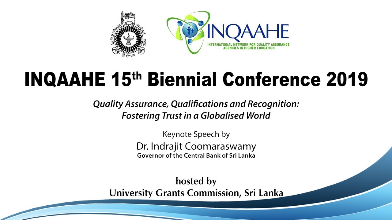 INQAAHE 15th Biennial Conference 2019