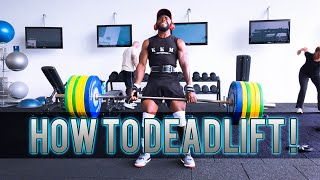 How to DeadLift 190 KG / 418 LBS ?