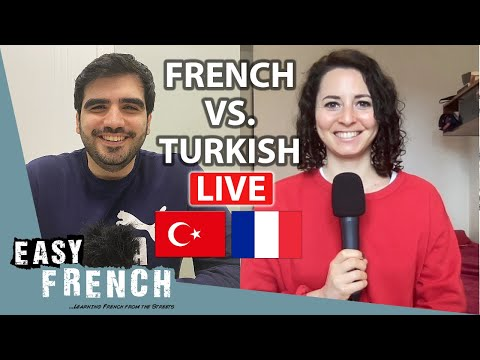French vs. Turkish: Similar Words | LIVE