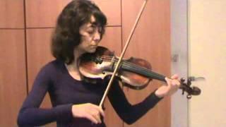 Уроки скрипки. Переходы в позиции