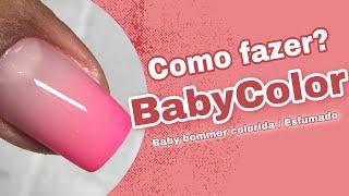 Baby Color/ baby boomer colorida/ esfumado.
