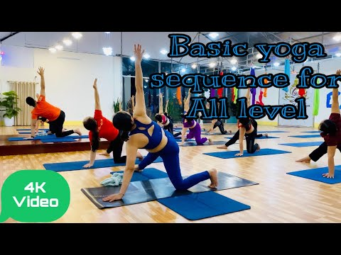 basic yoga sequence  part 2  for all level  master