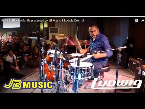 NATE SMITH in Manila presented by JB Music & Ludwig Drums!