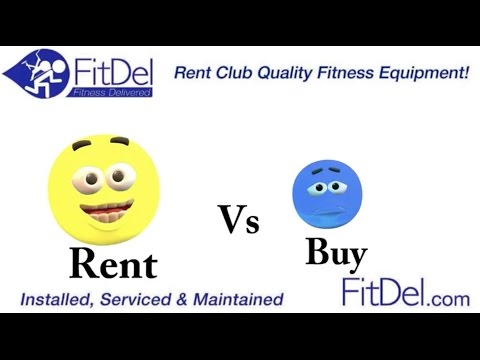 How To Rent Or How To Buy Fitness Equipment. Renting Is Better!