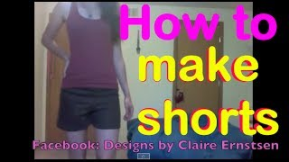 How to make your own cute and comfy shorts