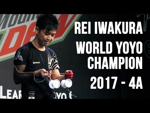 Rei Iwakura - 4A Final - 1st Place - World Yoyo Contest 2017