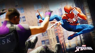 #4 НОВЫЙ ЧЕЛОВЕК ПАУК Коп Паук Снова в Деле! Прохождения игры Marvel's Spider-Man летсплей PS4